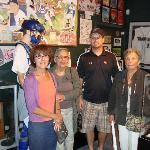 Us with Scott, Director of the Museum