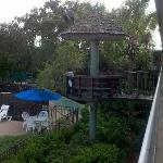 Crows Nest Seating Area