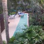 Shuffle board / Ping Pong / Grill area