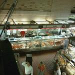 Great selection of fresh cut meats and smoked meats