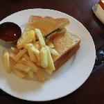 Toasted Sandwich, very tasty!