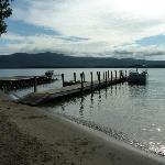The Juliana's own private lakeside beach.