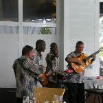 cuban band playing at lunch time