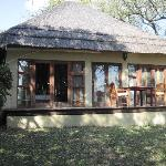 """Our """"cottage"""" with plunge pool"""