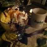 Hot Fudge Sundae at the Brigadoon