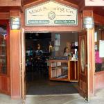 Entry to the Maui Brew Pub restaurant in Kahana