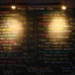Brew pub menu
