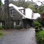 The Coach House at the back.