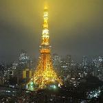 初日の東京タワー