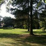 vue du parc depuis chambre