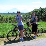 photo stop on our bike tour