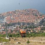 Cable car and Dubrovnik
