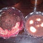 Stawberry Shave Ice w/ Adzuki Beans and Zenzai