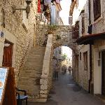 back street in UMAG