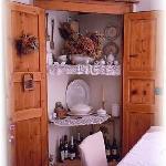 dettaglio sala colazioni