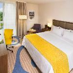 Completely renovated hotel rooms