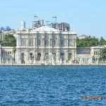 VIEW OF HOTEL FROM BOSPHORUS