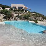 La meravigliosa piscina!!!