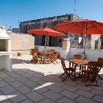 terrazza degli appartamenti centro storico