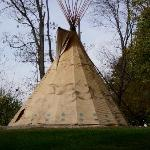 One of the Tee Pee's