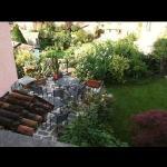 Garden and breakfast area