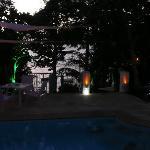 Petite ambiance nocturne juste après l'apéro coucher du soleil....