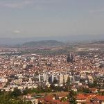 Clermont Ferrand city view