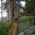 second view from deck