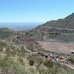 Old mining area near Jerome