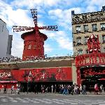Moulin Rouge am Tag