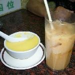 プリンと紅茶