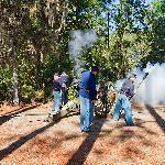 Civil War Reenactment at Silver River State Park (less than a mile from hotel)