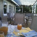 breakfast patio