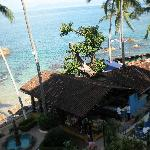 View to the right from 4th floor. La Playita Restaurant.