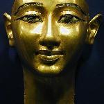 a golden Mask