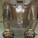 Tutmose III Granite statue