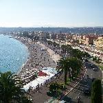 view of the promenade des anglais