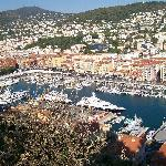 view of Nice port