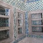 Beutiful mosaic in the Harem