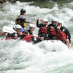 Edu guiding down the rapids!