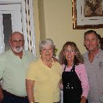 Rod & Paula Friedmann, Kathy and Buddy