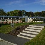 Le bâtiment comprenant les chambres