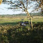 Beobachtungsplatz der Lodge