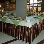 Frühstücksbuffet im Hotel Promenada