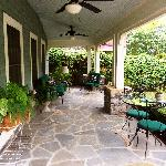 Magnolia Suite Porch