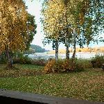 Early Autumn View from Main Lodge Room Deck