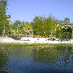 One of the larger beach areas.