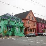 Colourful buildings in Lunenburg