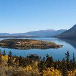 One of the many lakes along the Klondike Highway