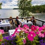 Lake Saimaa view from the terrace